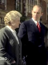 Image from Miss Marple: The Secret of Chimneys: Julia McKenzie and Stephen Dillane © 2010 MASTERPIECE