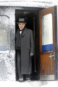 Image from Poirot: Murder on the Orient Express: David Suchet as Hercule Poirot © 2010 MASTERPIECE