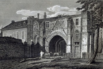 The Abbey School, Reading, England, Gatehouse from Austenonly