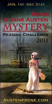 Being a Jane Austen Mystery Challenge 2011