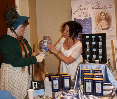 Bingley's Teas at the Jane Austen Society of North America AGM Portland 2010