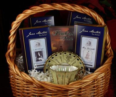 Bingley's Teas Ltd. Jane Austen Tea Series Grand Gift Basket