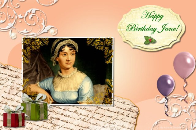 Happy Birthday Jane Austen Blog Tour 2010