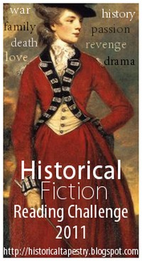 Historical Fiction Reading Challenge 2011 graphic