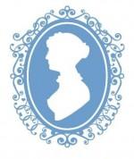 Jane Austen silhouette from the book Jane Austen Love and Romance (2010)