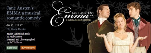 Jane Austen's Emma: A Romantic Musical Comedy at the Old Globe (2011)