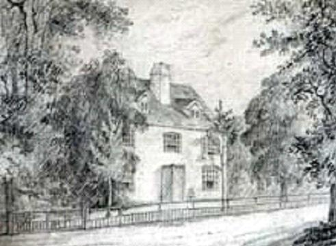 Jane Austen's birthplace, Steventon Rectory, Hampshire, England