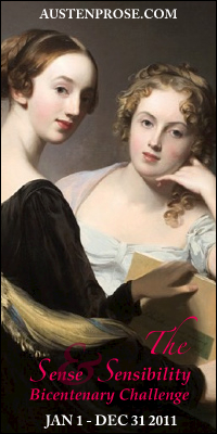 The Sense and Sensibility Bicentenary Challenge 2011