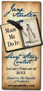 Jane Austen Made Me Do It Short Story Contest 2011 graphic