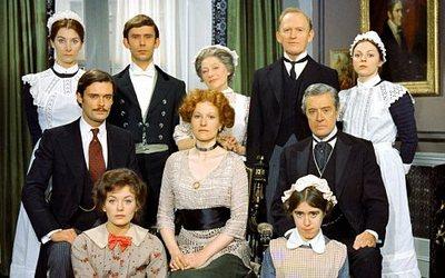 Upstairs Downstairs 1970's cast © BBC Worldwide Ltd