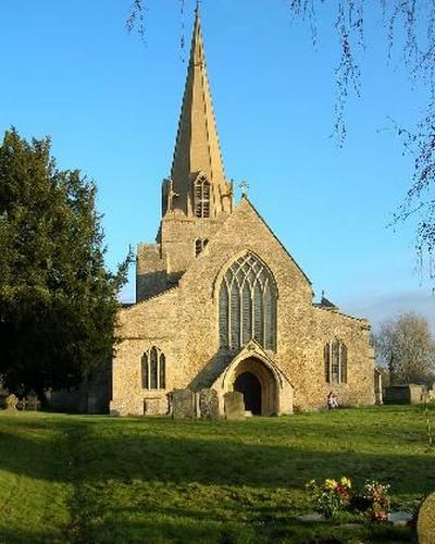 St. Mary's Church in Brampton, Oxfordshire used in the filming of Downton Abbey (2010)