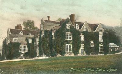Chawton Manor House, Hampshire circa 1913