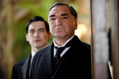Image from Downton Abbey Season 1: Jim Carter as Mr. Carson © Carnival Film & Television Limited 2010 for MASTERPIECE