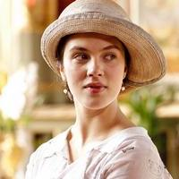 Image from Downton Abbey Season 1: Jessica Brown Findlay as Lady Sybil Crawley © Carnival Film & Television Limited 2010 for MASTERPIECE