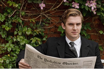Image from Downton Abbey Seasin1: Dan Stevens as Matthew Crawley © Carnival Film & Television Limited 2010 for MASTERPIECE