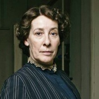 Image of Phyllis Logan as Mrs. Hughes in Downton Abbey © Carnival Film & Television Limited 2010 for MASTERPIECE