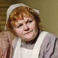Image of Lesley Nicol as Mrs Patmore in Downton Abbey © Carnival Film & Television Limited 2010 for MASTERPIECE