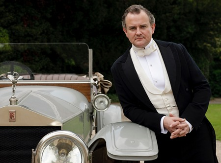 Image from Downton Abbey Season One: Hugh Bonneville as  Lord Grantham © Carnival Film & Television Limited 2010 for MASTERPIECE
