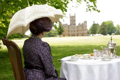 Image from Downton Abbey Season 1: Maggie Smith as Violet, the Dowager Countess of Grantham © Carnival Film & Television Limited 2010 for MASTERPIECE
