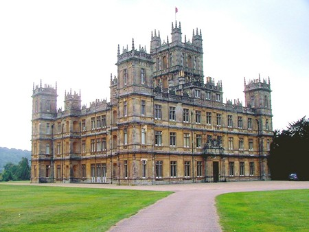 Image of Highclere Castle, Hampshire, England