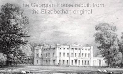 Highclere Castle circa Georgian-era