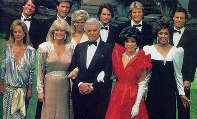 Cast of 1980's TV drama Dynasty