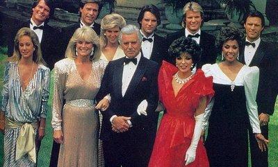 Cast of 1980's TV drama Dynasty