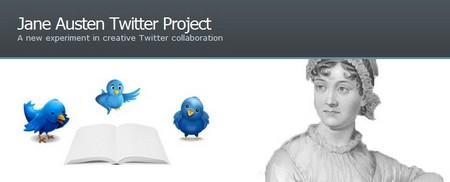 Jane Austen Twitter Project banner