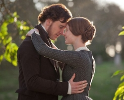 Michael Fassbender and Mia Wasikowska in Jane Eyre (2011)