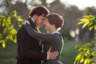 Mia Wasikowska and Michael Fassbender in Jane Eyre (2011)
