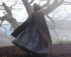 Jane Eyre (Mia Wasikowska) on the Moors in Jane Eyre (2011)