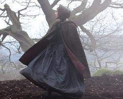 Jane Eyre (Mia Wasikowska) on the Moors in Jane Eyre (2011)