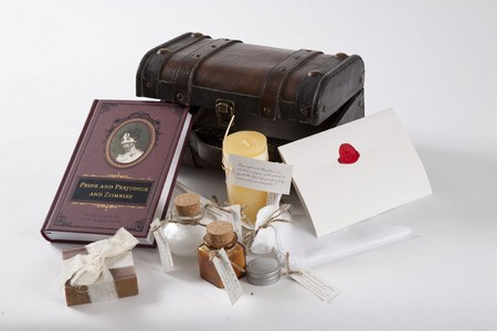 Pride and Prejudice and Zombies apothecary kit