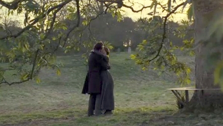 Rochester (Michael Fassbender) and Jane (Mia Wasikowska) in Jane Eyre (2011)