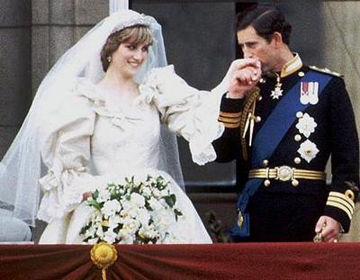 Lady Diana Spencer and HRH Prince Charles Royal Wedding 1981