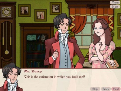 Mr. Darcy and Elizabeth Bennet in Matches & Matrimony: A Pride and Prejudice Tale (2011)