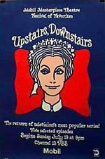Upstairs Downstairs original Masterpiece Theatre series poster 1970's