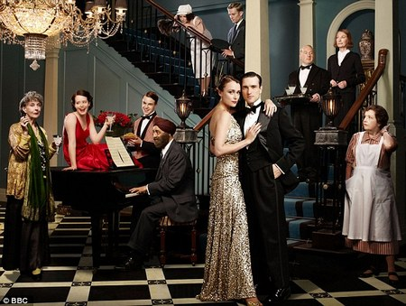 Image from Upstairs Downstairs Season One: cast pictured © 2010 MASTERPIECE