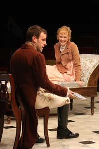 Aaron Blakely as John Willoughby in Sense and Sensibility at the Book-It  Rep (2011) x 200