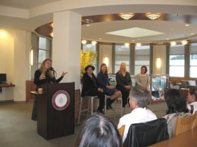 Prof. Lynda Hall introduces the Austenalia panel