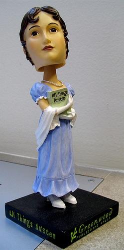 Jane Austen bobble-head