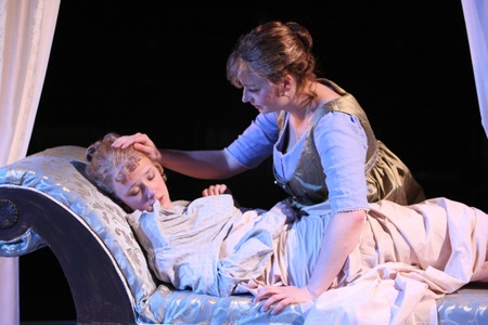Jessica Martin and Kjerstine Anderson in Sense and Sensibility at the Book-It Rep (2011)