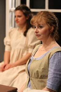 Kjerstine Anderson as Elinor Dashwood in Sense and Sensibility at the Book-It Rep (2011)