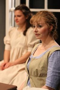 Kjerstine Anderson as Elinor Dashwood in Sense and Sensibility at the Book-It Rep (2011)