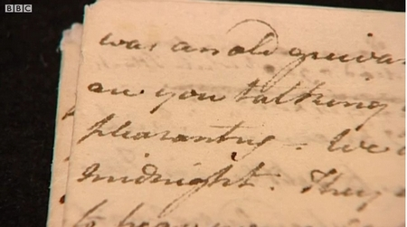 The Watsons Manuscript from BBC News (2011)