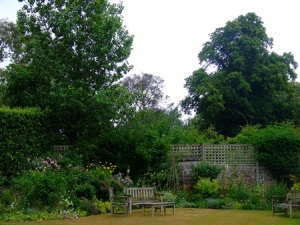 Chawton Cottage garden (2011)