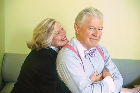 Authors Diane Meier and Frank Delaney