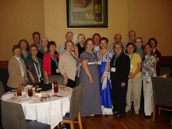 Fiction author luncheon at JASNA Ft. Worth (2011)