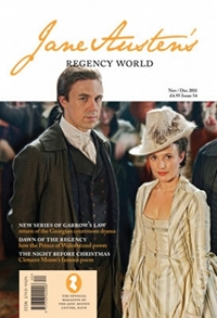 Jane Austen's Regency World Magazine No 54 Nov/Dec (2011)