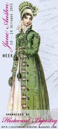 Jane Austen Week at Historical Tapestry October 10 - 16, 2011